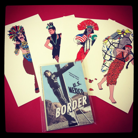 New Barbarians - Prints from the New Border. Free Culture 2012. Joan Wyand and Guillermo Gómez Peña.