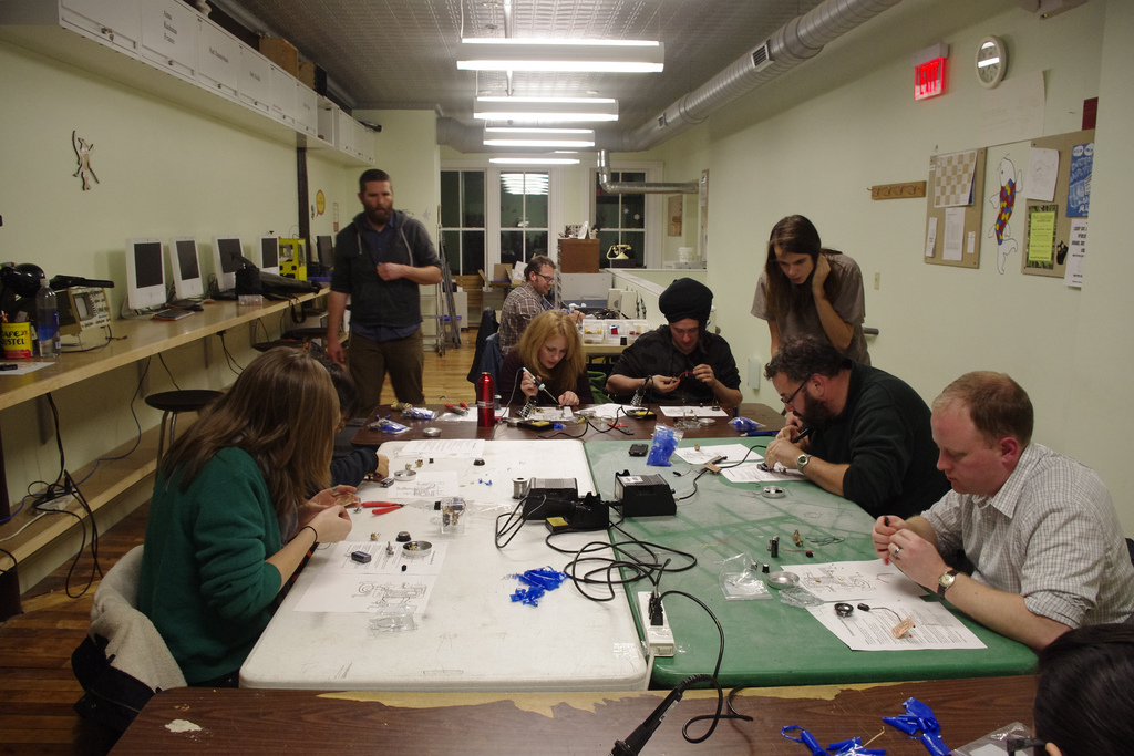 Photo of Grop in Workshop at AS220 Labs