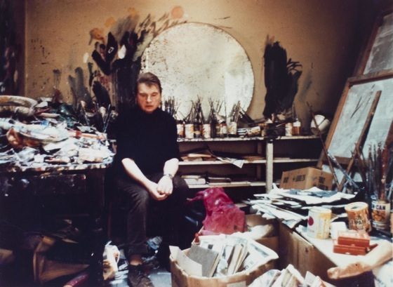 Francis Bacon messy studio