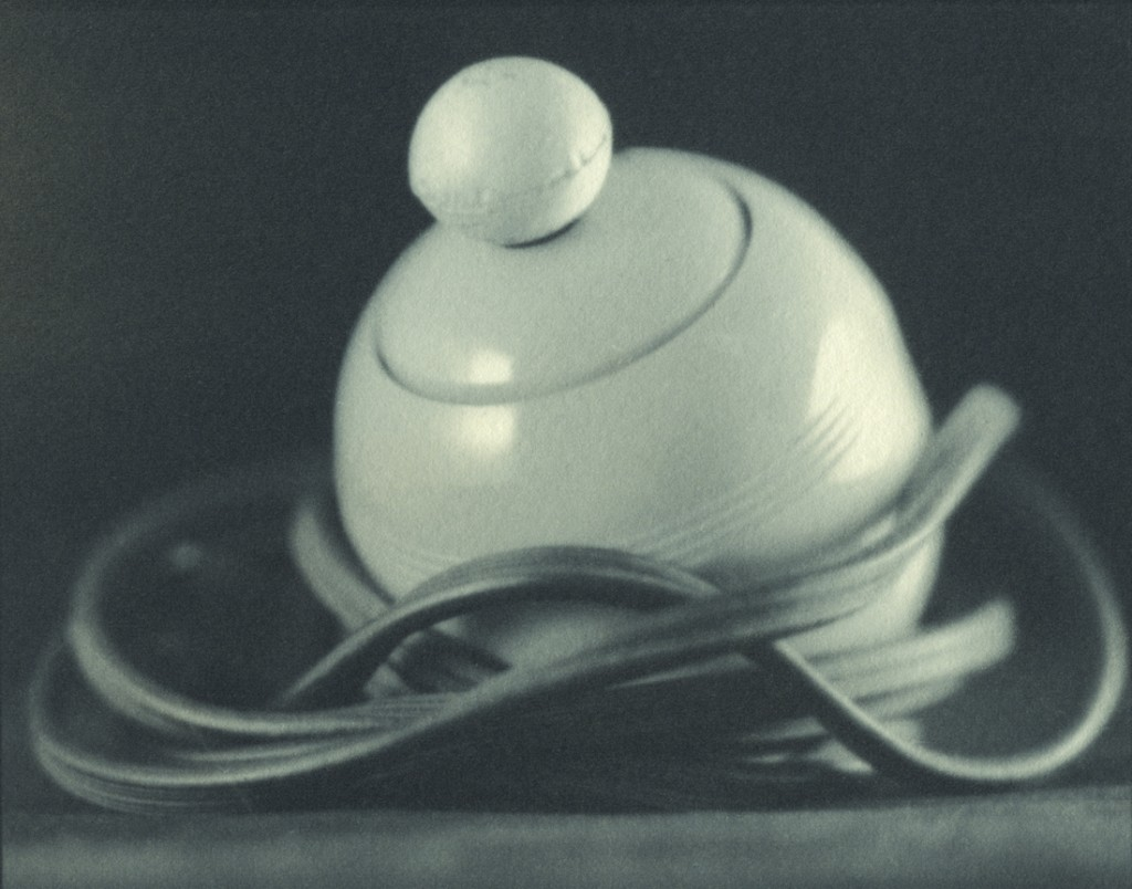 Intimate Appliances: The Ball Grip, a ziatype by Lindsey Beal at the Reading Room