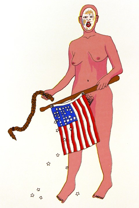 New Border prints - American Blow-up Doll