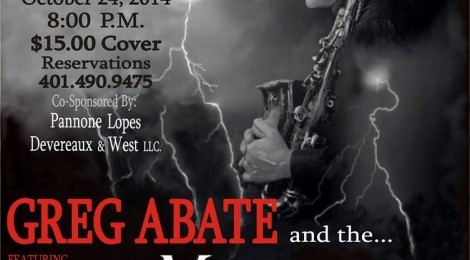 GREG ABATE & THE MONSTERS IN THE NIGHT