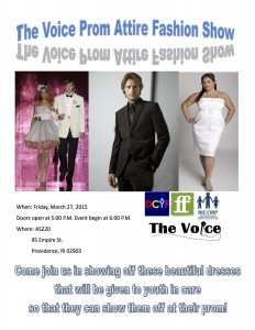 The Voice Prom Attire Fashion Show @ AS220's Blackbox | Providence | Rhode Island | United States