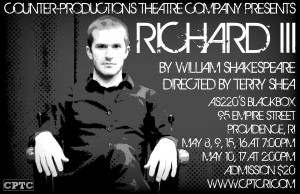 Counter-Productions Theatre Company Presents Shakespeare's Richard III