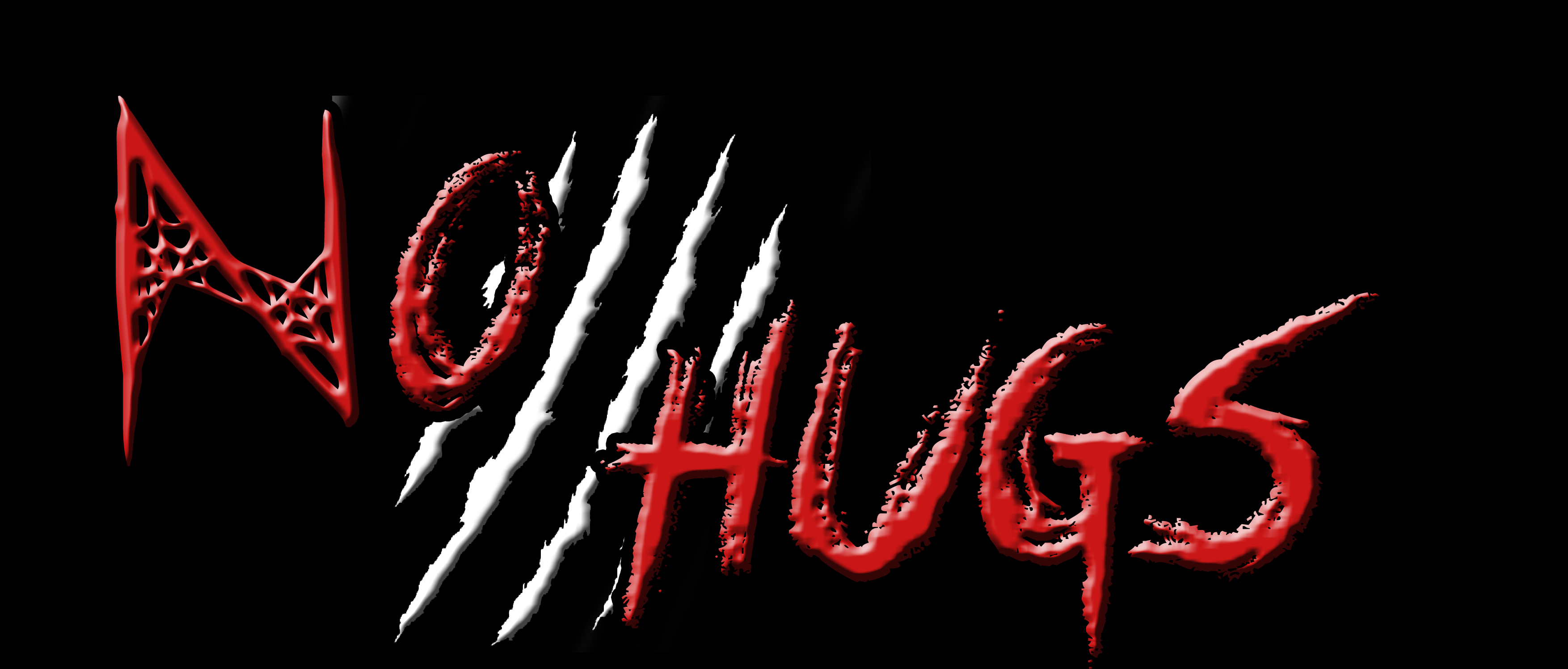 no hugs logo