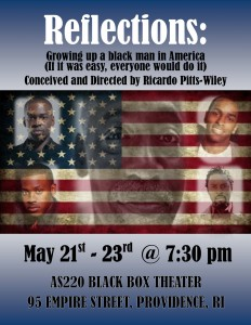 "Mixed Magic Theatre Presents ""Reflections: Growing up as a Black Man in America"""