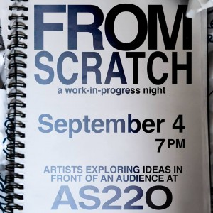 From Scratch: A Works in Process Night @ AS220's Blackbox