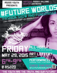 AS220 YOUTH FUTUREWORLDS FASHION SHOW AND FUNDRAISER