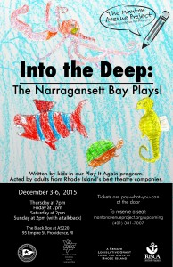 "The Manton Avenue Project Presents ""Into the Deep: The Narragansett Bay Plays"" @ AS220's Blackbox"