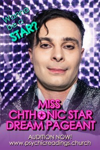 Miss Chthonic Star Dream Pageant @ AS220's Blackbox + Psychic Readings Room