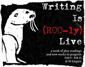 Romp of Otters Presents: A Pot Luck and Play Reading @ AS220's Blackbox