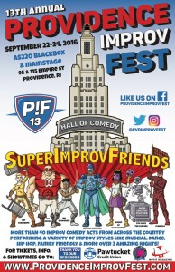 Providence Improv Festival at AS220's Blackbox! @ AS220's Blackbox