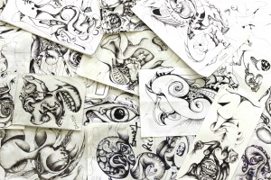 Umberto Crenca's 30 Hour Doodling Marathon @ AS2220's Blackbox