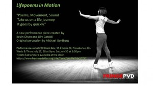 Fringe PVD: Lifepoems in Motion