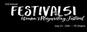 Festival 51 Women's Playwriting Festival @ AS220's Blackbox