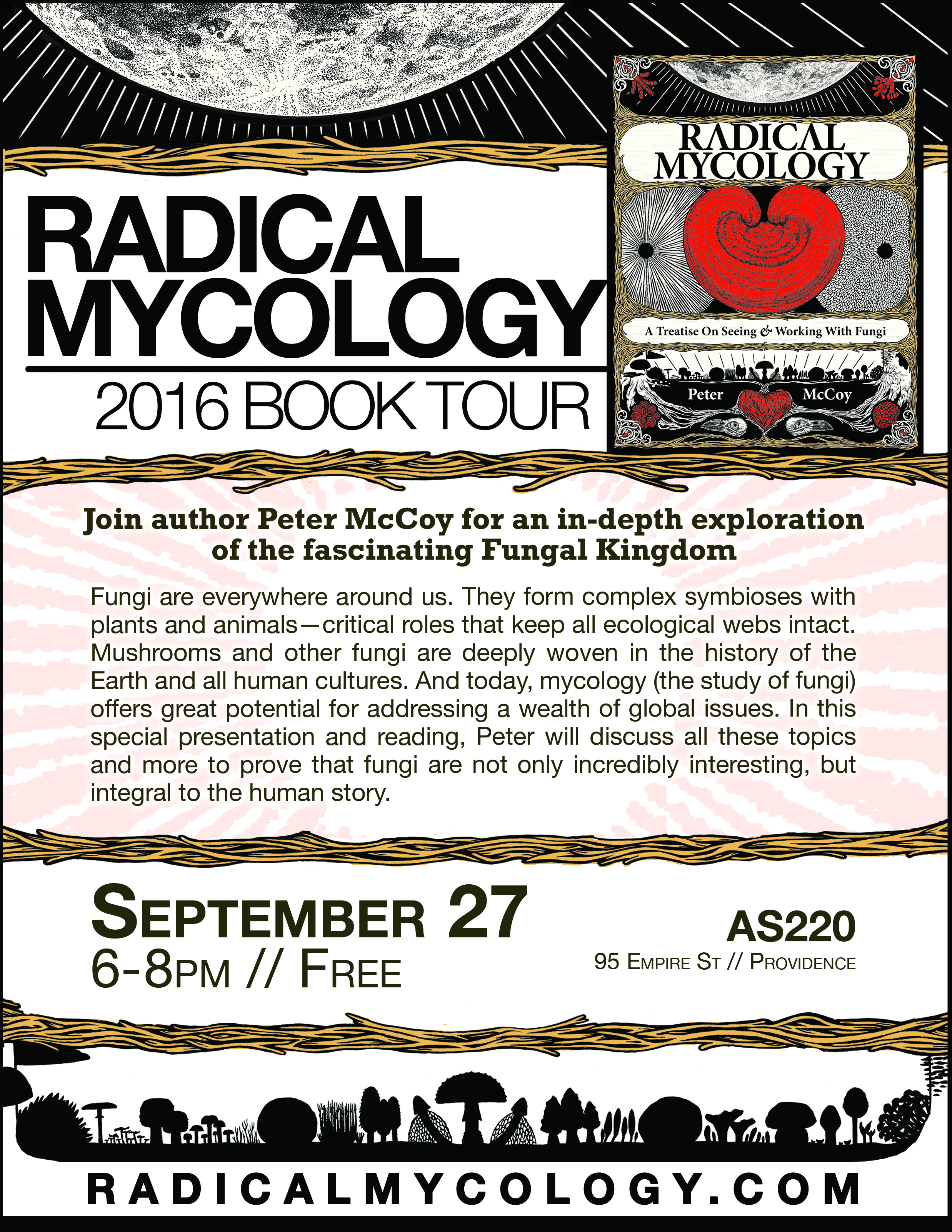Radical Mycology 2016 Book Tour @ Psychic Annex / Aborn Room