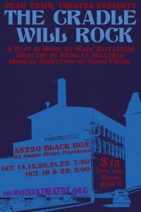 The Cradle Will Rock @ AS220 Black Box