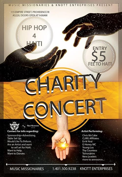 HIP HOP 4 HAITI CHARITY CONCERT @ AS220 Main Stage | Providence | Rhode Island | United States