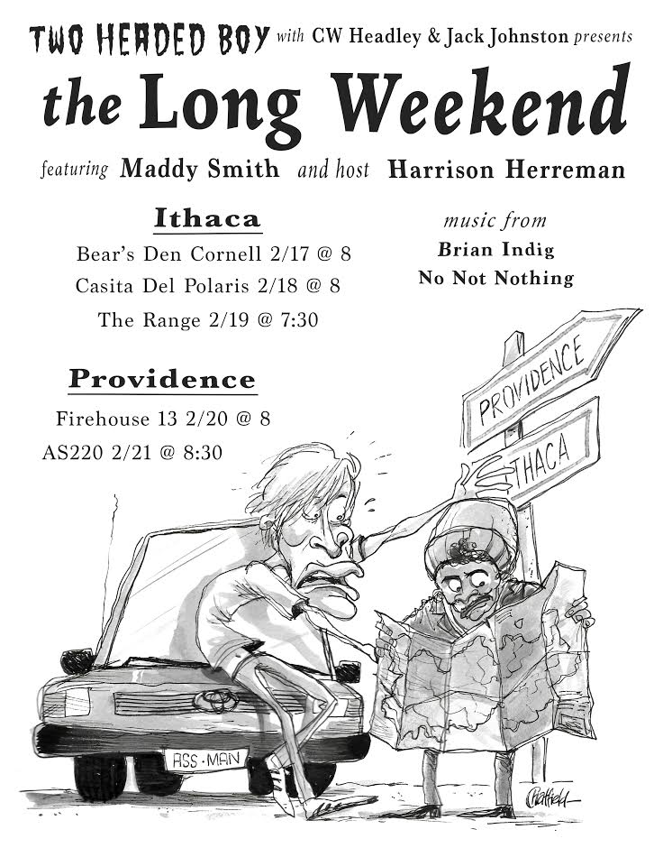 Two Headed Boy Presents: The Long Weekend @ AS220 Main Stage | Providence | Rhode Island | United States
