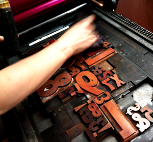 Intro to Letterpress: Hand Typesetting @ AS220 Printshop | Providence | Rhode Island | United States