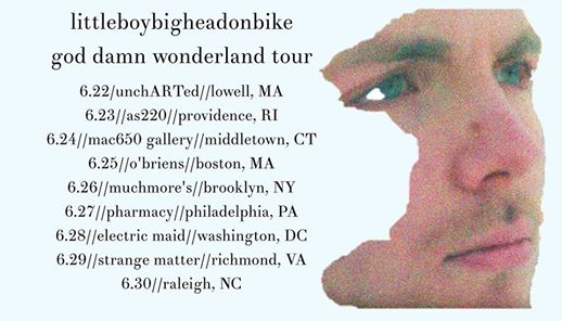 Littleboybigheadonbike (Album Release / Full Band), Jillian Kay, and Cat Has Claws @ AS220 Main Stage | Providence | Rhode Island | United States