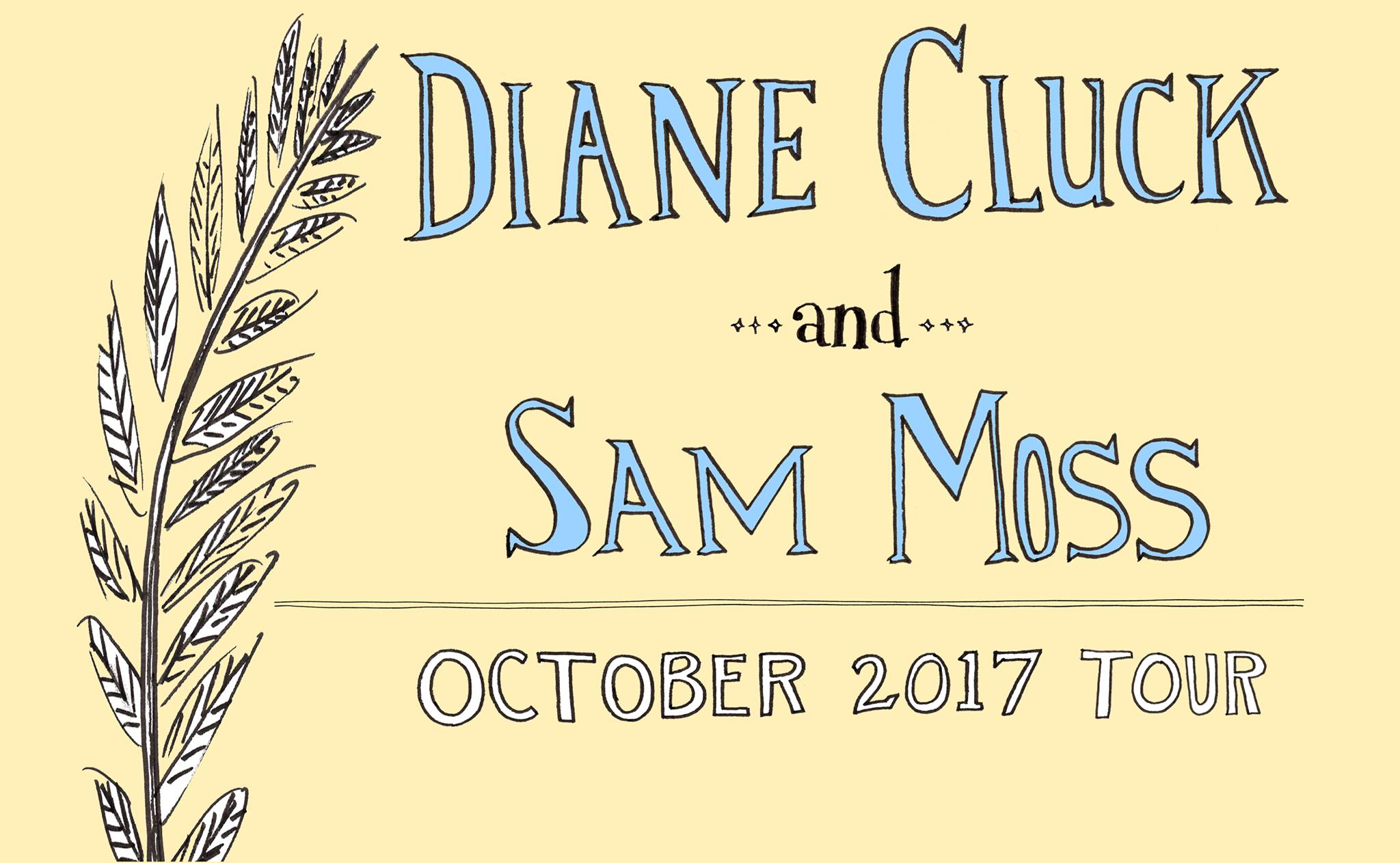 Diane Cluck, Sam Moss, and The Van Nostrand Sisters @ AS220 Main Stage | Providence | Rhode Island | United States