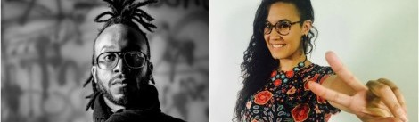 """""""Art, Resistance, and Legacy""""  Artist Talk with DS Kinsel & Shey Rivera"""