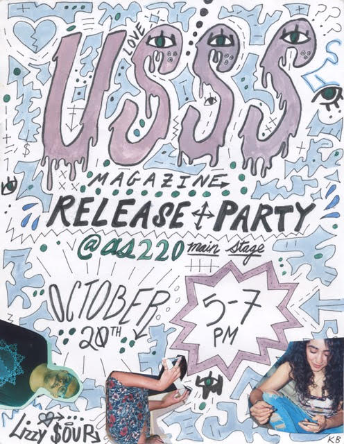 USSS Magazine Vol. II Release Party @ AS220 Main Stage | Providence | Rhode Island | United States