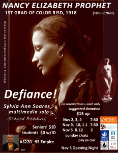 Defiance! flier AS220 '17 - Staged Reading-1