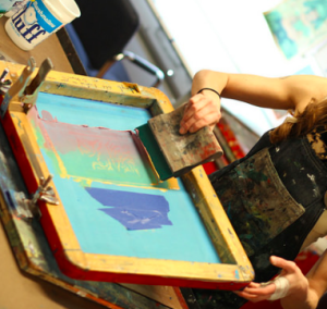 Intro to Silkscreen: Weeknight @ AS220 Printshop | Providence | Rhode Island | United States