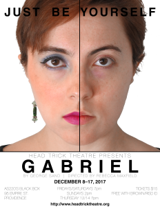 Head Trick Theatre presents Gabriel @ AS220 Black Box | Providence | Rhode Island | United States