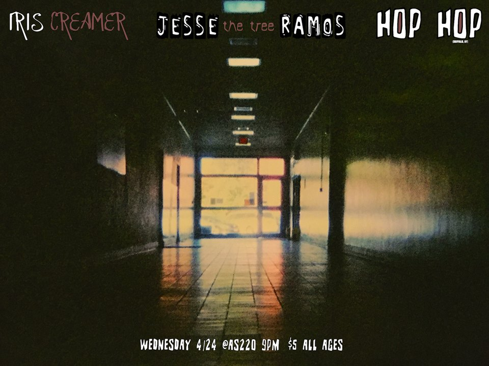Hop Hop (NY), Iris Creamer, Jesse the Tree, Warner Meadows @ AS220 Main Stage | Providence | Rhode Island | United States