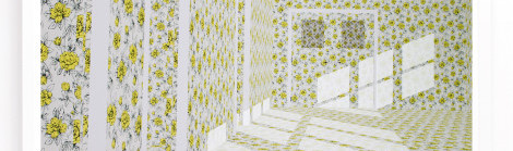 "New Art Alert!! Jodie Goodnough ""The Yellow Wallpaper (Exit)"""