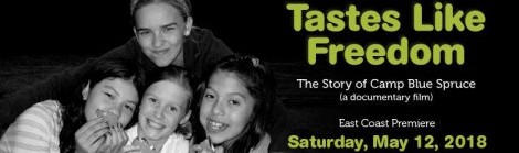 East Coast Premiere of Tastes Like Freedom!