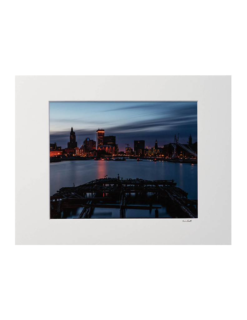 Brian Lavall - Point Street Skyline at Blue Hour