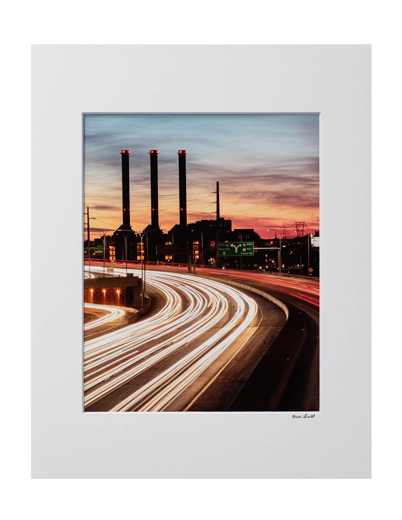 Brian Lavall - Iway Sunset Light Trails