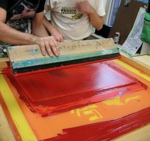 Silkscreen Intensive @ AS220 Printshop | Providence | Rhode Island | United States