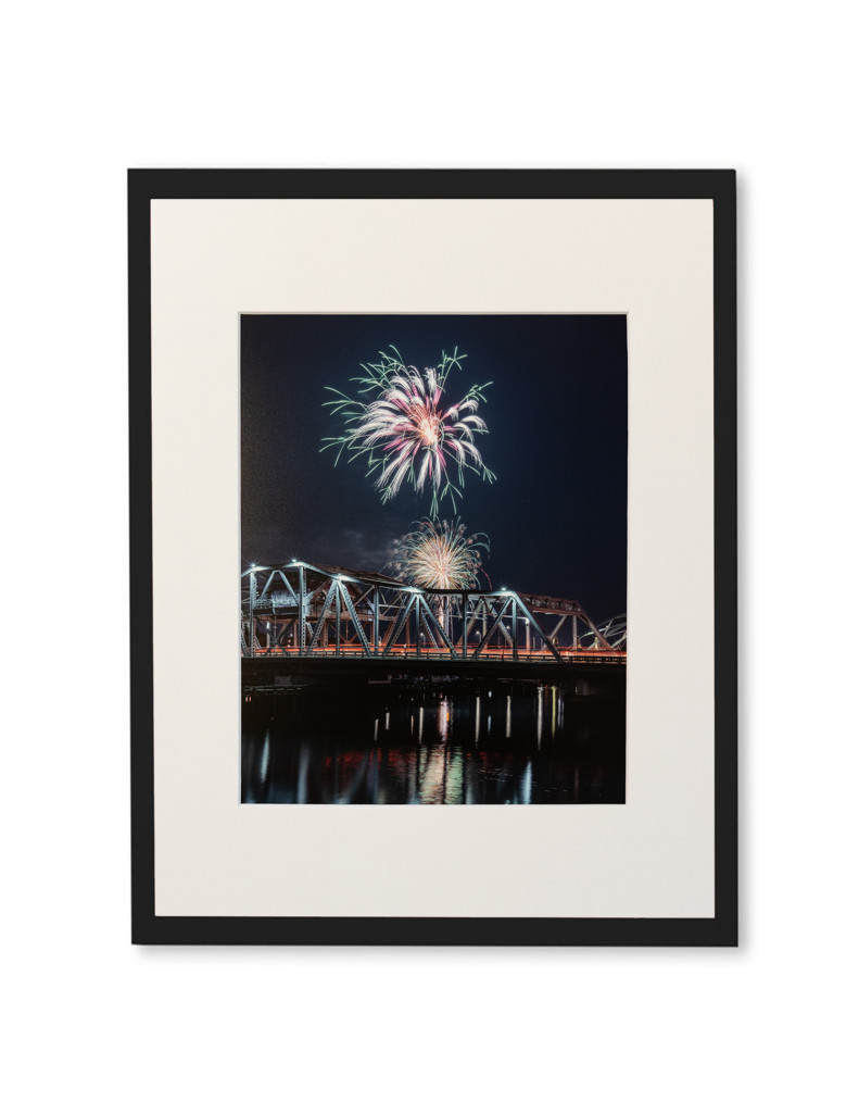 "Brian Lavall - Providence Fourth of July, Photograph on lustre paper, Matted, 8 x 10"", 2018"