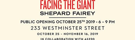 Facing the Giant in Providence: October 21 - 25